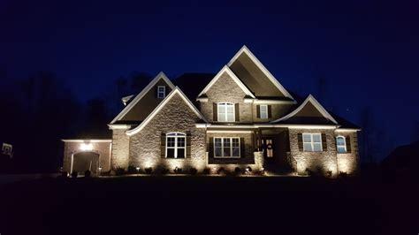 custom landscape lighting design in summerfield nc