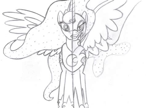 mlp coloring pages nightmare moon princess celestia and nightmare moon coloring pages