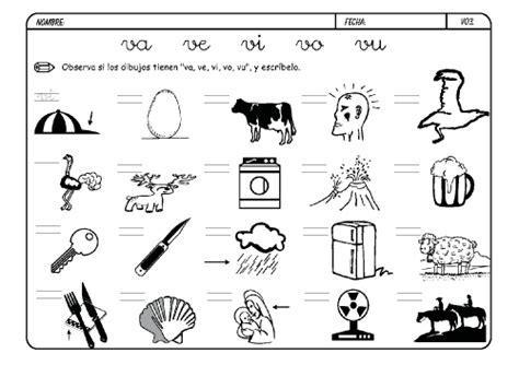 imagenes que inicien con la letra v lista de palabras con v para colorear material para