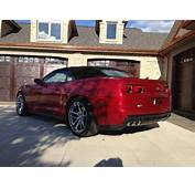 Sell Used 2013 CAMARO ZL1 CONVERTABLE 3300 MILES LOADED