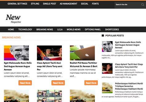 news magazine template 2014 free