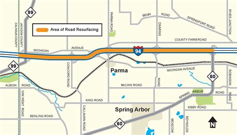 mdot construction map mdot construction begins next week on i 94 in western