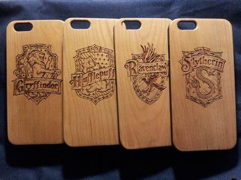Hogwarts Logo On Wood hogwarts badge wood phone harry potter by case4youbb6