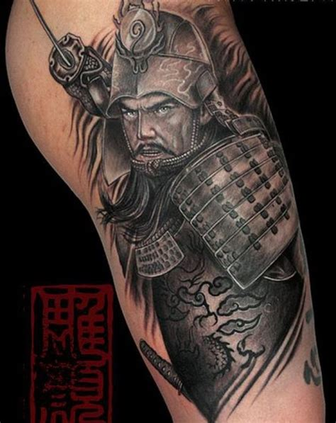75 of the best samurai tattoo designs