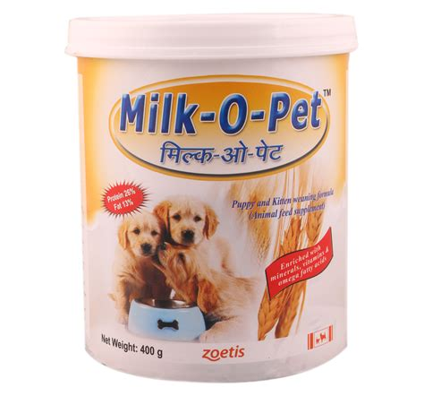 puppy weaning food zoetis milk o pet puppy kitten weaning food 400 gm dogspot pet