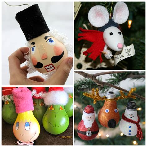 ornaments with lights creative light bulb ornaments crafty morning