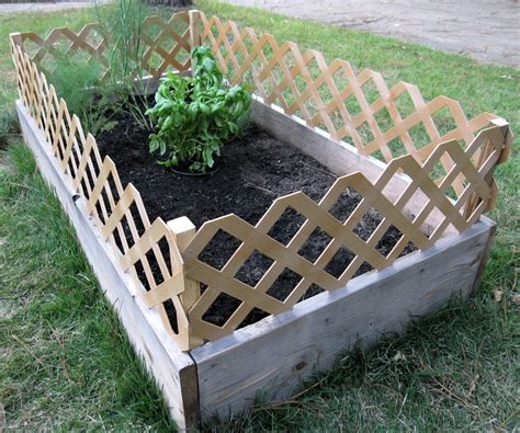 raised garden bed with fence raised garden fencing ideas photograph does your scurrilou