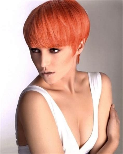 bowlcut and napeshave ladies stylish bowl cut with bangs for women short hairstyles