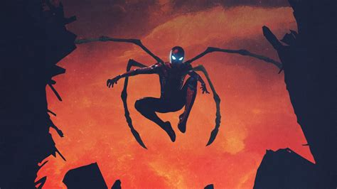 iron spider wallpapers hd wallpapers id