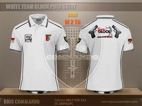 Baju Kaos Putih I jual baju kaos polo perbakin team glock putih baju kaos