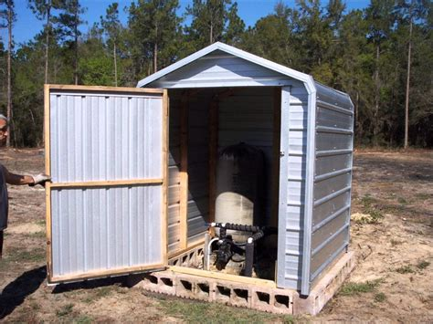 pump house how to build a pump house shed image mag