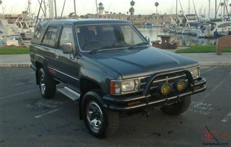 Toyota Hilux Surf Turbo Diesel Rust Free 1987 Toyota Hilux Surf Turbo Diesel Ssr Limited