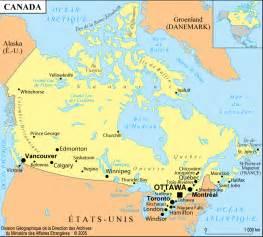 map de canada en francais canada y compris qu 233 bec