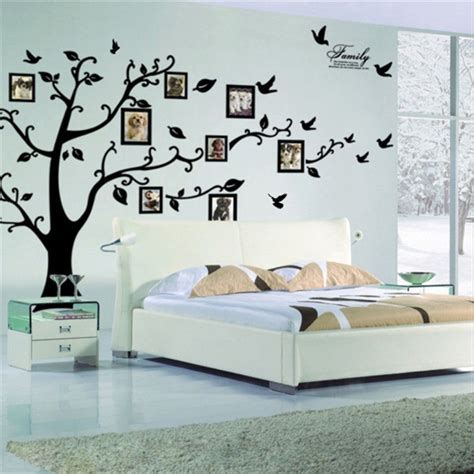 large wall stickers for living room aliexpress com buy diy large size black tree photo frame