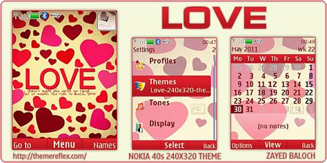 Love Themes C2 | love theme for nokia x2 c2 01 240 215 320 themereflex