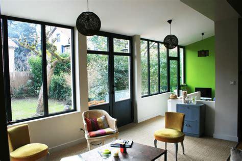 Salon D Une Maison by Extension D Une Maison Salon Bureau Extension