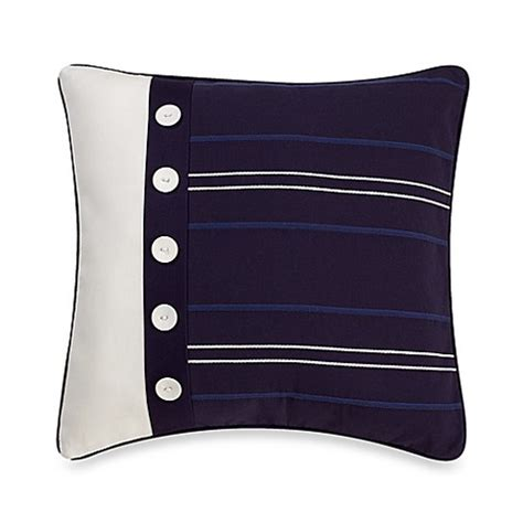 nautica bed pillows nautica 174 winston 16 inch square toss pillow bed bath