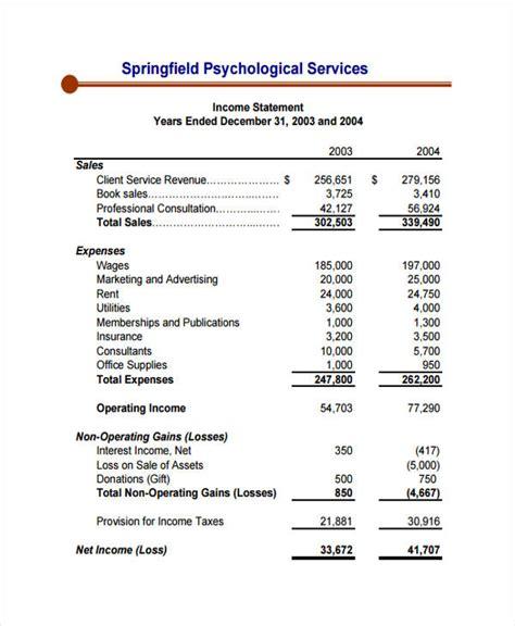 income statement template for service company income statement template for service company 28 images