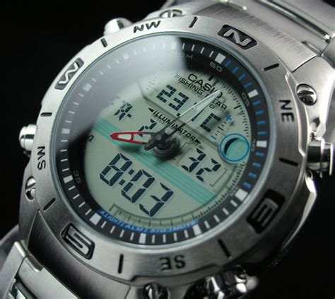 Casio Outgear Amw 704d 7a Original casio fishing gear thermometer moon amw 702d 7a amw