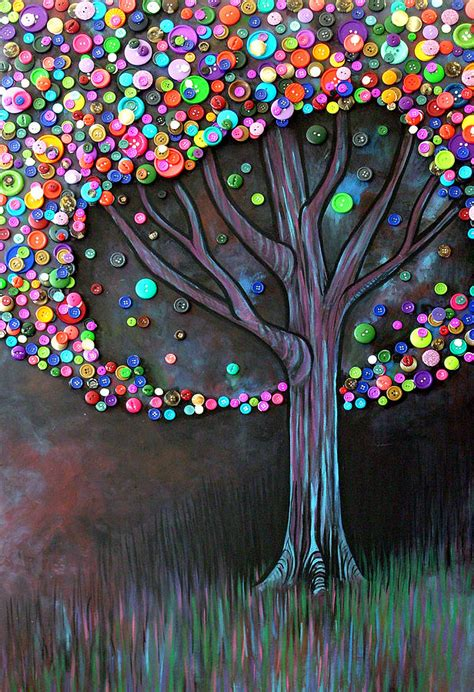 Button Painting button tree 0006 by furlow