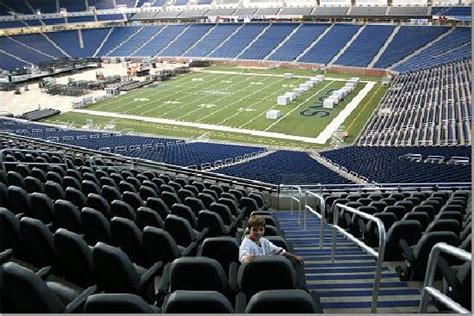 what are club seats at ford field seats picture of ford field detroit tripadvisor