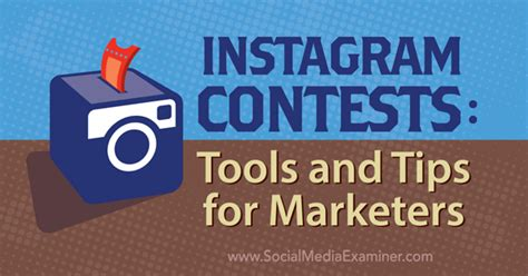instagram contests tools and tips for marketers social media examiner - Instagram Giveaway Tips