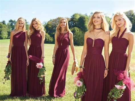 fall dress colors our top 4 fall bridesmaid dress colors camille la vie