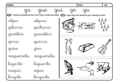 imagenes y palabras con la letra g muchas palabras con g