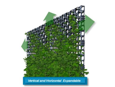 wall garden systems gro wall facade vertical garden system atlantis corporation