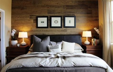 why is it called a master bedroom love the wood accent wall perfect backdrop to frame the