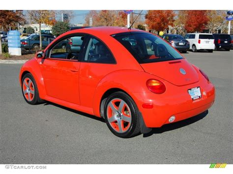 orange volkswagen beetle 2002 snap orange volkswagen new beetle special edition
