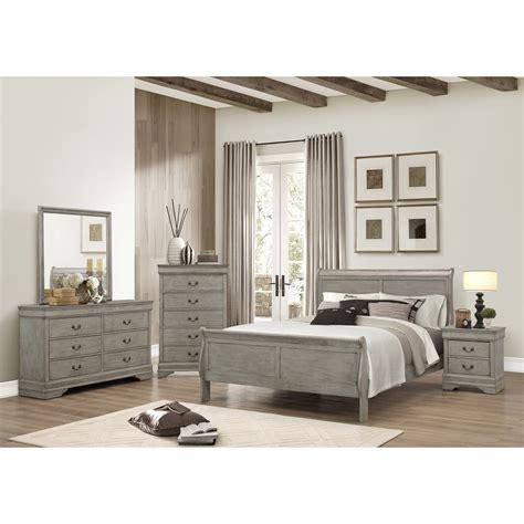 Crown Mark Louis Phillipe Queen Bedroom Group Wayside Crown Bedroom Furniture