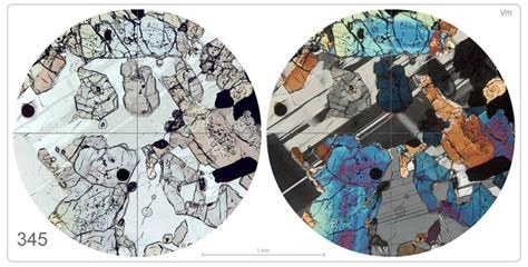thin section minerals 94 best images about under the microscope on pinterest