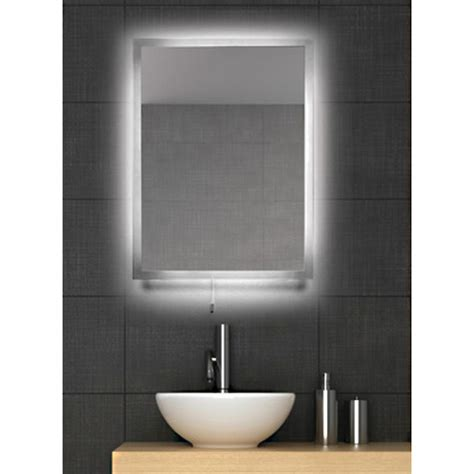 lit bathroom mirror fiji led backlit bathroom mirror