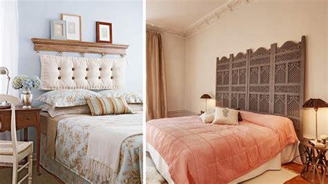 cabeceros ni os originales decorar cuartos con manualidades cabeceros cama