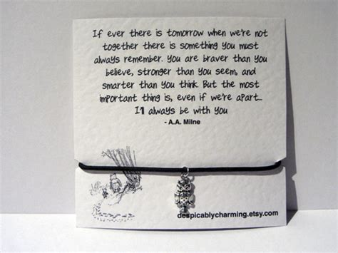 Jewels: owl, quote bracelet, leaving present, quote card, winnie the pooh, leather bracelet