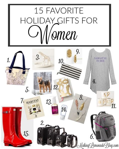15 best gifts for her gifts she ll adore making lemonade