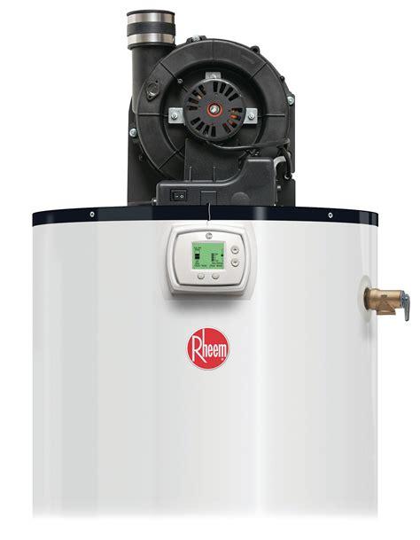 power vent water rheem power vent water heater lcd display builder