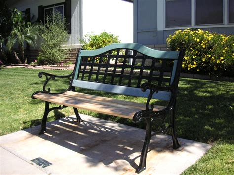 park bench ideas plans build park bench plans diy how to make overrated05wks