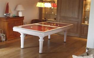 tables billard transformables