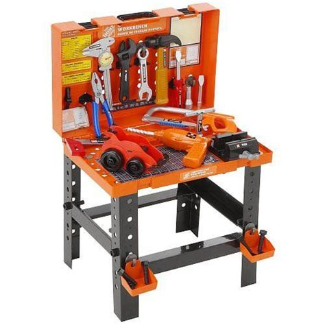 home depot toy bench the home depot carrying case workbench toy workbench