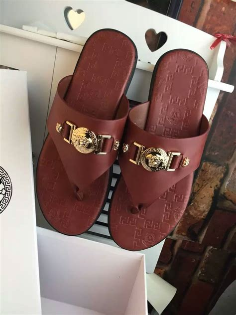 versace slippers versace slippers in 457512 for 53 00 wholesale