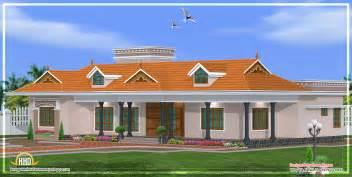 Home Design House by Kerala Single Story House Model 2800 Sq Ft Kerala Home