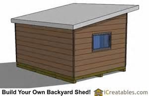 Shed Plans 12x16 12x16 Studio Shed Plans Center Door