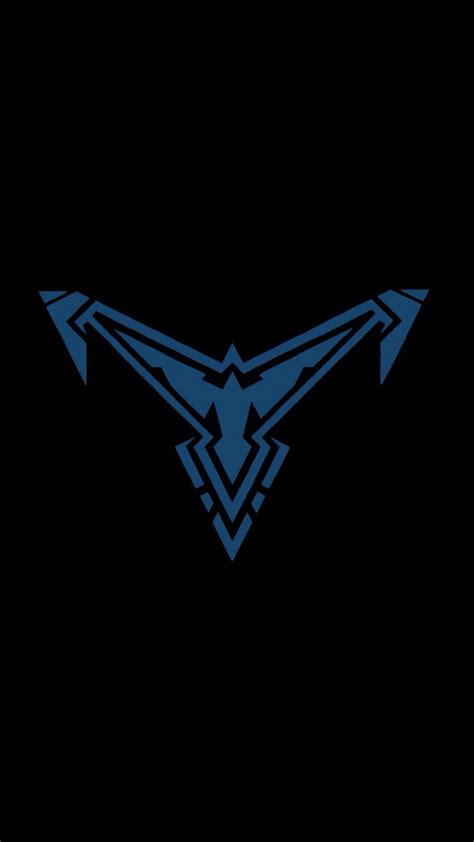 new nightwing logo comic book love pinterest logos