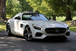checking out the new 2016 mercedes amg gt s in new york