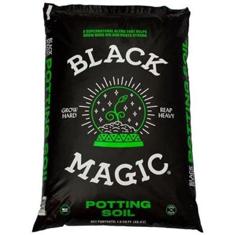 black magic 1 5 cu ft potting soil 1010172403 the home