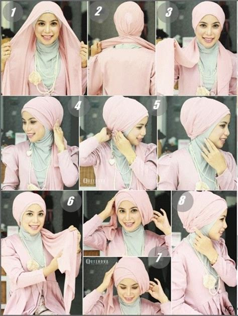 tutorial hijab turban kepang 25 best ideas about turban hijab on pinterest