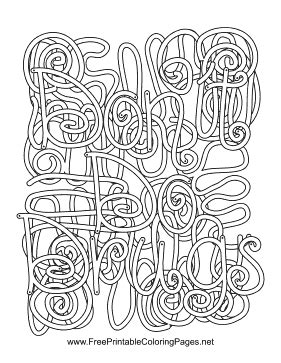 coloring pages with hidden words anti drug hidden word coloring page