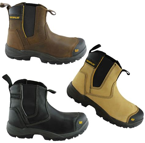 Sepatu Boots Safety Caterpilar Hydroulic Steel Toe caterpillar cat propane mens steel toe work safety boots